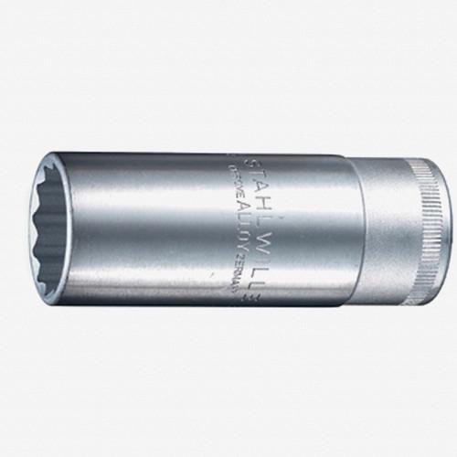 "Stahlwille 51 1/2"" Extra Deep 12-pt Socket, 20.8 mm - 13/16"" - KC Tool"