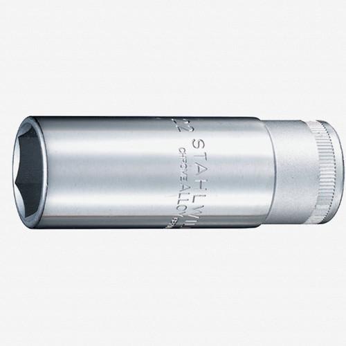 "Stahlwille 51S 1/2"" Extra Deep 6-pt Socket, 20.8mm - 13/16"" - KC Tool"