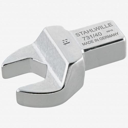Stahlwille 731/40 Open ended insert 27 mm, 14x18 mm - KC Tool