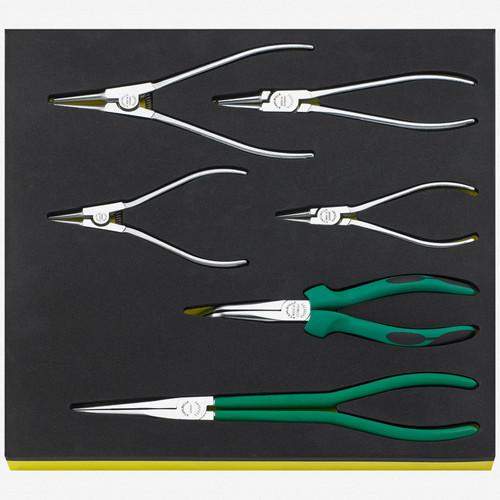 Stahlwille TCS 6534-6545/6 Set of pliers in TCS inlay - KC Tool