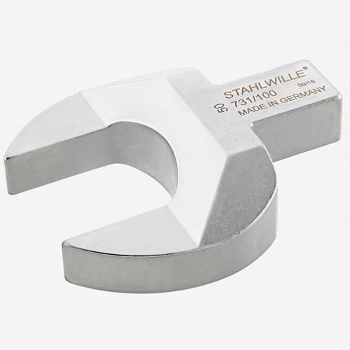 Stahlwille 731/100 Open ended insert tool 50 mm, 22x28 mm - KC Tool