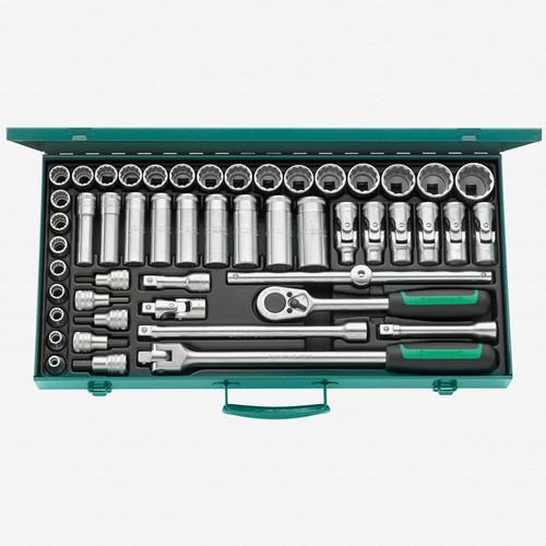 """Stahlwille 50/43/7 1/2"""" Metric Socket Set - KC Tool"""