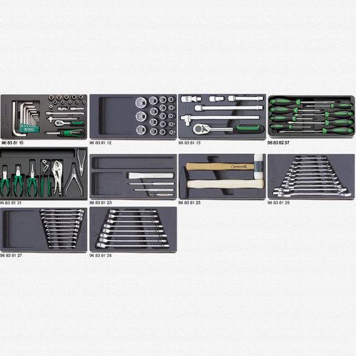 Stahlwille 806/10 Tool set - KC Tool