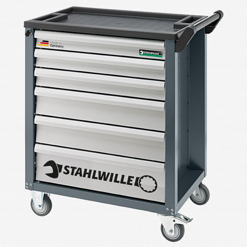 Stahlwille 90/6A Tool trolley, 6 drawers anthracite grey, RAL 7016 - KC Tool