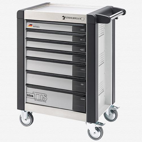 Stahlwille 95VA/7 Tool Trolley TTS, 7 drawers anthracite grey, RAL 7016 - KC Tool