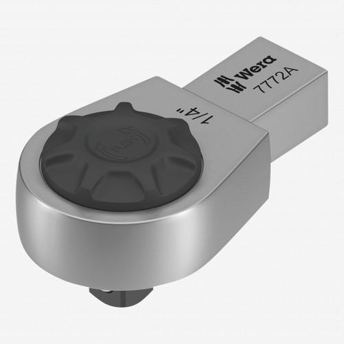 """Wera 078635 7772 A Ratchet Insert, 9x12 mm holder, 1/4"""" Drive, Reversible - KC Tool"""