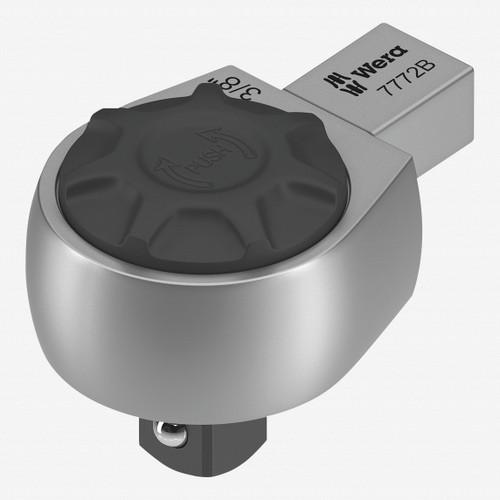 "Wera 078636 7772 B Ratchet Insert, 9x12 mm holder, 3/8"" Drive, Reversible - KC Tool"
