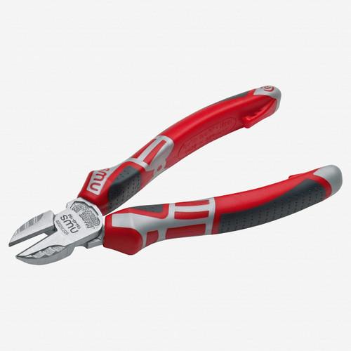 """NWS 134-49-160 6.25"""" Side Cutter - Matte Chromium - SoftGripp - KC Tool"""