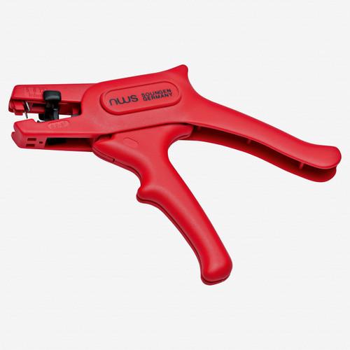 "NWS 704-VDE-180 7"" Self-adjusting Stripping Pliers VDE - SoftGripp - KC Tool"