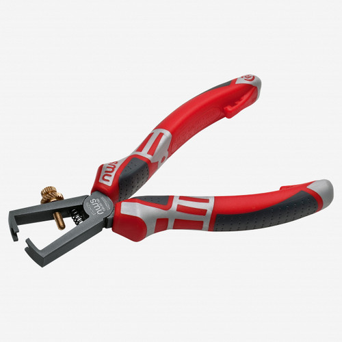 """NWS 145-69-160 6.25"""" Wire Stripping Pliers - TitanFinish - SoftGripp - KC Tool"""