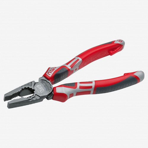 "NWS 109-69-165 6.5"" High Leverage Combination Pliers CombiMa - xTitanFinish - SoftGripp - KC Tool"