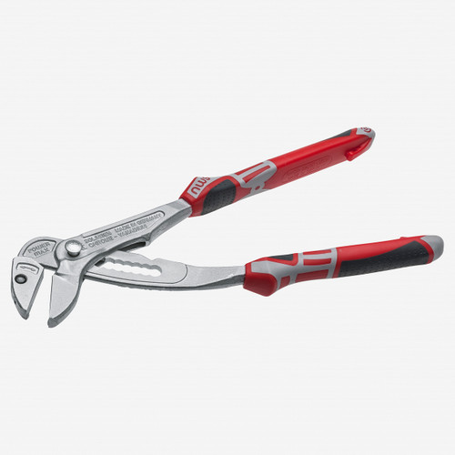 "NWS 166K-49-250 10"" Fittings Pliers PowerMa - xMatte Chromium - SoftGripp - KC Tool"
