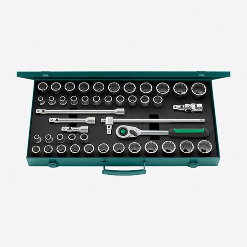 "Stahlwille 50MA/39/6QR Socket Set, 1/2"" Drive, 45 pcs - KC Tool"