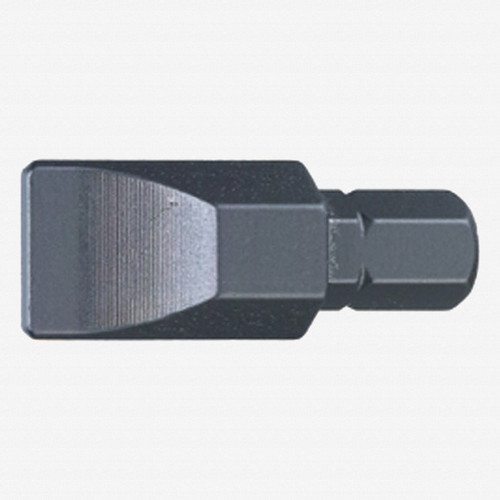 """Stahlwille 1167 1/4"""" Bit for Slotted Screws, 1.2 x 8.0 mm - KC Tool"""