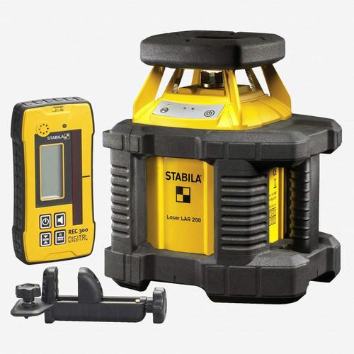 Stabila 05510 LAR 200 Exterior Rotating Laser - Laser Kit Only - KC Tool