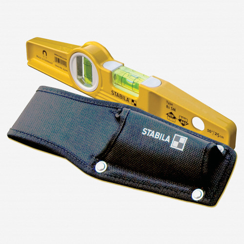 Stabila 30003 Cordura Torpedo Level Holster, Black - KC Tool