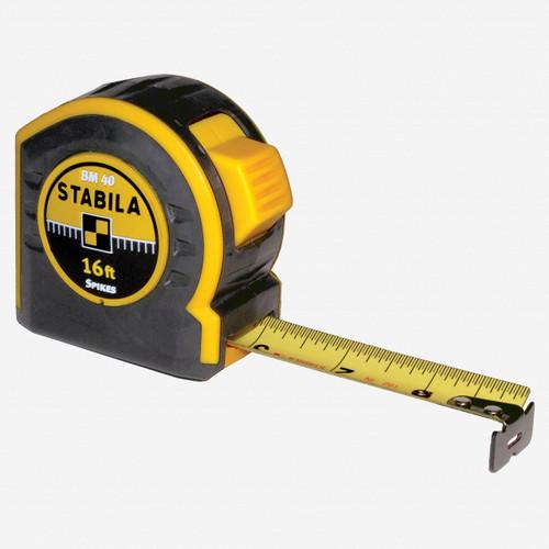 Stabila 30316 Type BM40 Tape Measure, 16' - KC Tool