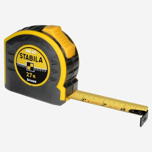 Stabila 30327 Type BM40 Tape Measure, 27' - KC Tool