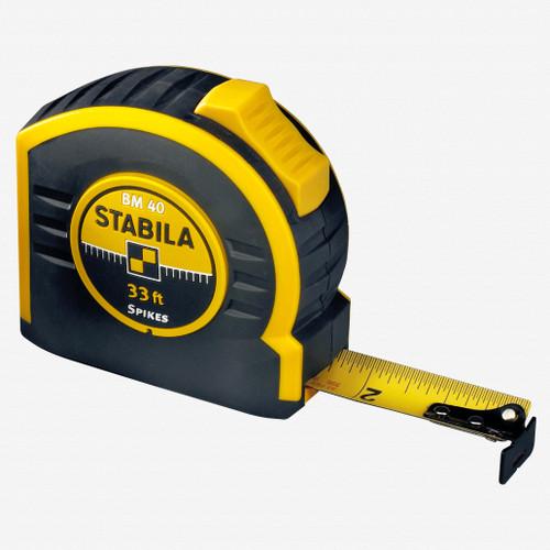Stabila 30433 Type BM40 Tape Measure, 10m/33' - KC Tool