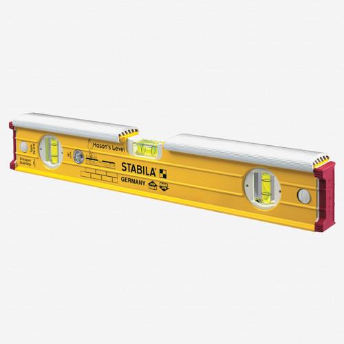 "Stabila 36416 Type 196-2K Masons Level with Shield, 16"" - KC Tool"