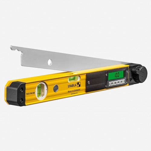 "Stabila 39018 Tech 700DA Digital Electronic Angle Finder, 18"" - KC Tool"