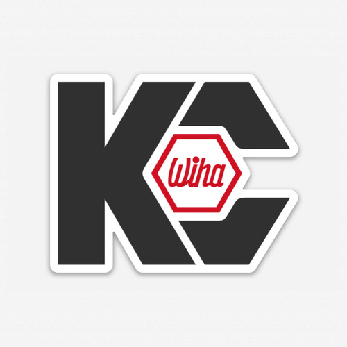 KC Tool x Wiha Sticker - KC Tool