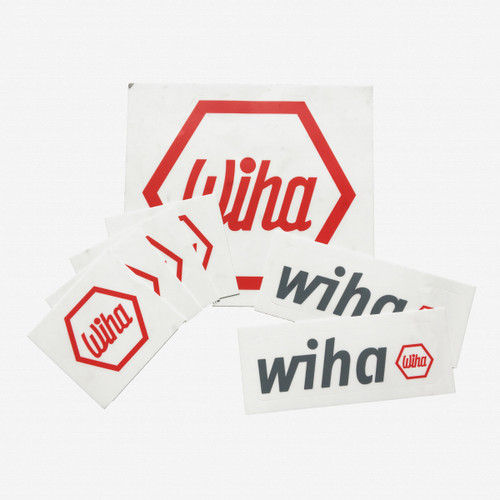 Wiha Sticker Pack, 7 Pieces - KC Tool