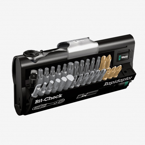 Wera 073640 30 Universal Bit Ratchet (Zyklop Mini) Set - KC Tool