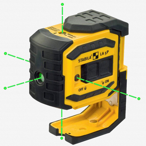 Stabila 03165 LA-5PG Green Beam 5 Point/Dot Laser - KC Tool