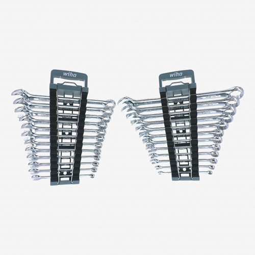 Wiha 30495 Inch and Metric Combination Wrench Sets, 24 pcs