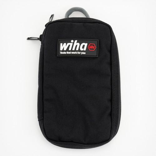 Wiha 91472 Utility Organizer Zipper Pouch, Black - KC Tool