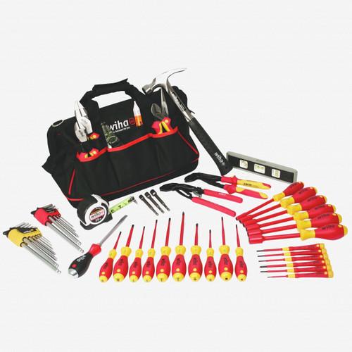 Wiha 32937 Master Electrician's Tool Set, 54 pcs - KC Tool