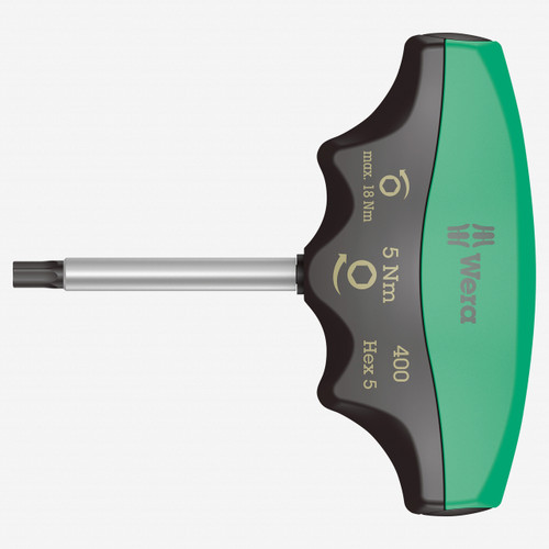 Wera 005081 5.0 Nm Fixed Torque Hex-Plus T-handle, 5.0 mm - KC Tool