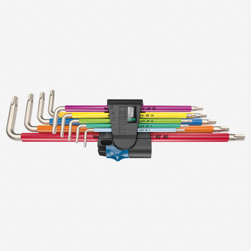 Wera 022689 Multicolor Torx HF Stainless L-key Set - KC Tool