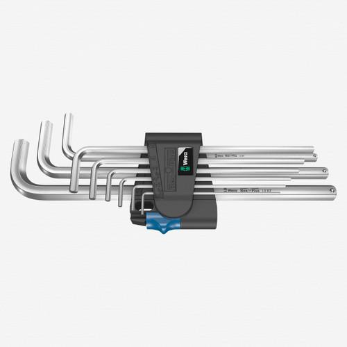 Wera 022130 Hex-Plus HF Chrome Hex L-key Set, Metric - KC Tool