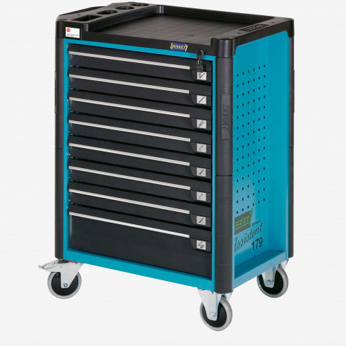 Hazet 179N-8-2700/296 Tool Trolley with Assortment for Mercedes-Benz - KC Tool