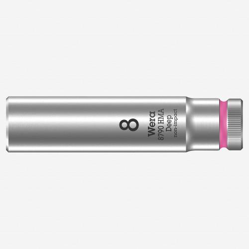 Wera 004505 Deep Socket, 8.0 x 1/4 - KC Tool