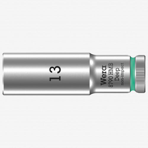 Wera 004535 Deep Socket, 13 x 3/8 - KC Tool