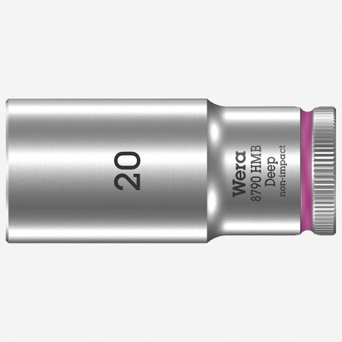 "Wera 004542 Deep Socket, 20 x 3/8"" - KC Tool"