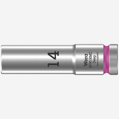 "Wera 004554 Deep Socket, 14 x 1/2"" - KC Tool"