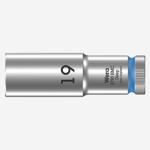 "Wera 004559 Deep Socket, 19 x 1/2"" - KC Tool"