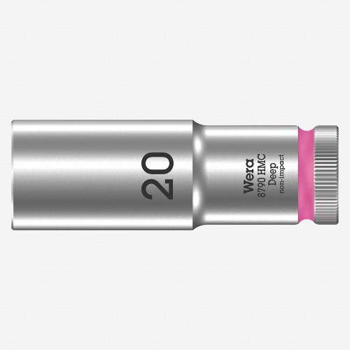 "Wera 004560 Deep Socket, 20 x 1/2"" - KC Tool"