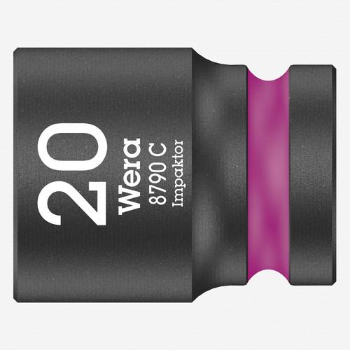 """Wera 004577 Impact Socket, 20 x 1/2"""" - KC Tool"""
