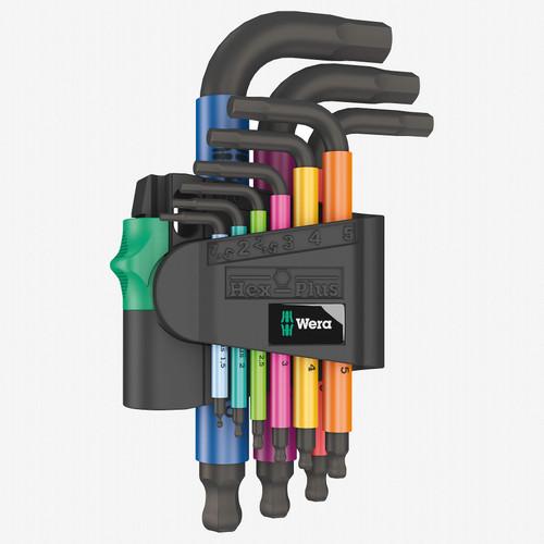 Wera 133164 Multicolor 2 Metric Hex-Plus L-key Set, BlackLaser - KC Tool