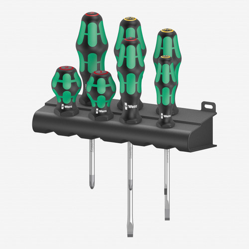 Wera 008900 Mix 1 300/7 Screwdriver Set, 7 Pieces