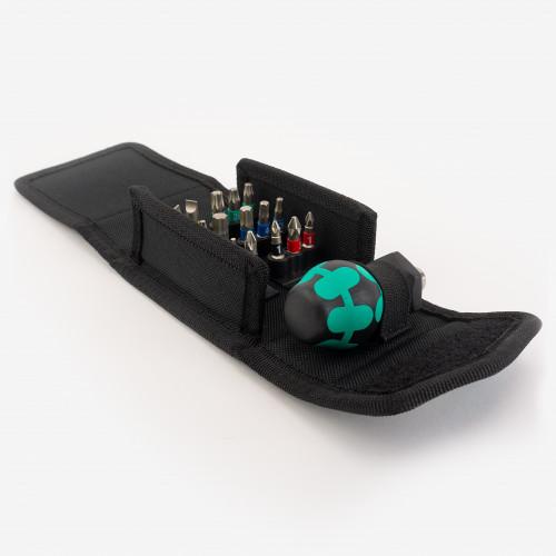 Wera 057471 Stubby Bit Holder Set 1, 19 Pieces  - KC Tool