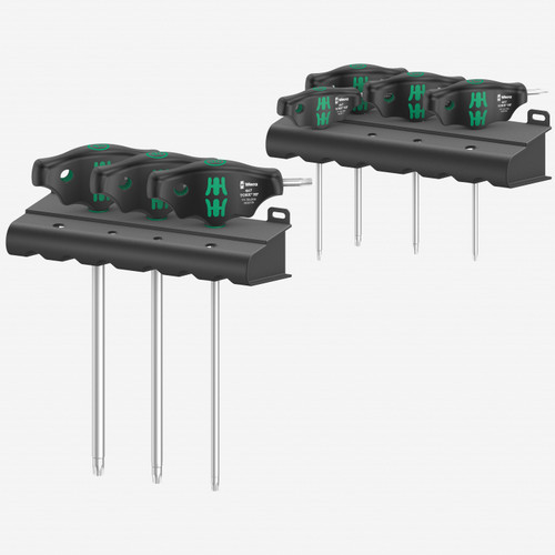 Wera 023452 Torx T-handle Set with Holding Function, 7 Pieces
