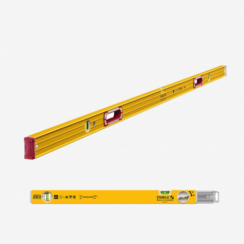 """Stabila 37540 Type 196 Jamber Set, 78"""" Level with Type 80T Extendable Level"""