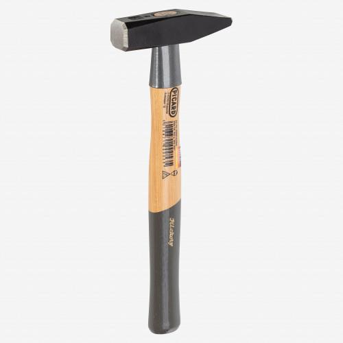 Picard 17oz (500g) Peen Riveting Hammer, German pattern, cross peen - KC Tool