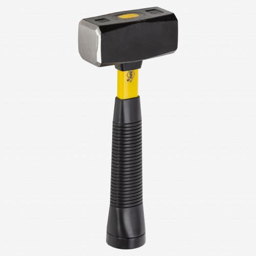 Picard 3.25 lb Mining Sledge, yellow fiberglass handle, rubber grip - KC Tool